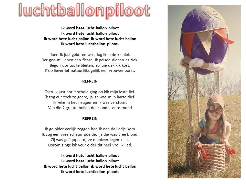Hete Luchtballon piloot